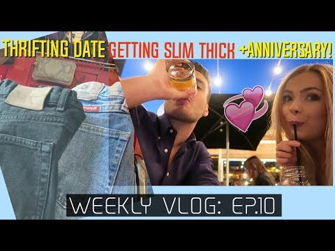 Thrifting w/ the Boyf + Slim Thick Workout + 4 years of Love | ep.10