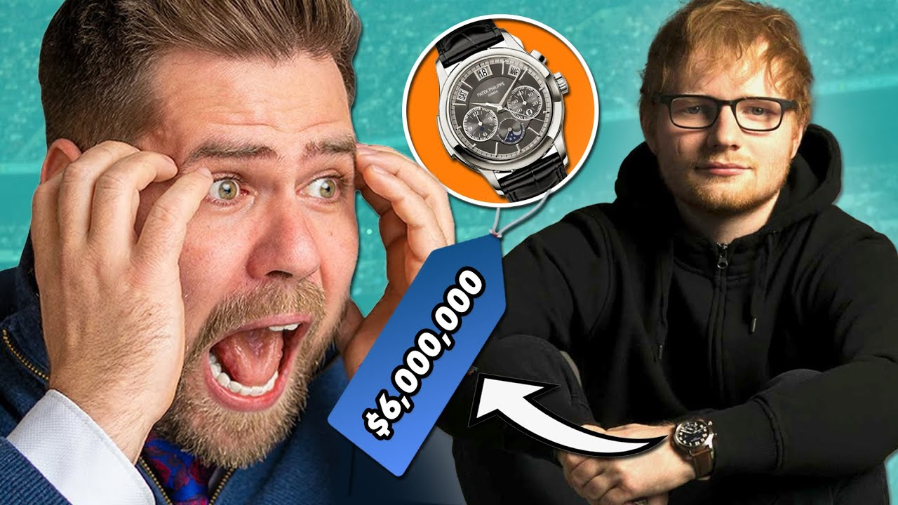 Watch Expert Reacts to Ed Sheeran's $6,000,000 Watch Collection