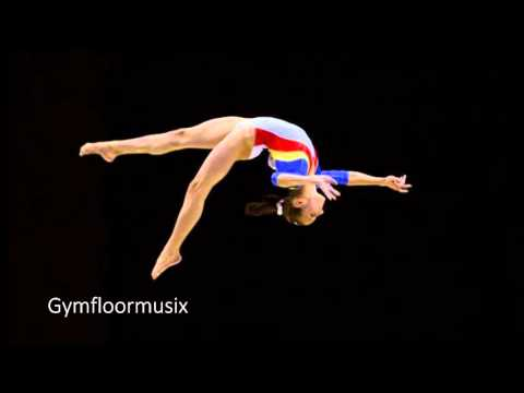 Gymnastic Floor Music Neon Lights Demi Lovato Doovi