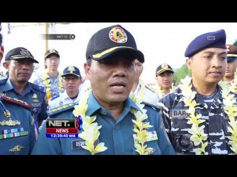 KRI Dewa Ruci Kembali Berlayar Membawa 70 Taruna AL Negara Asean - NET12