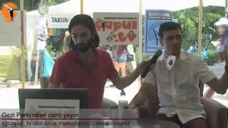 Gezİ Parkı'nda psİkolog İle röportaj - 11 Hazİran 2013