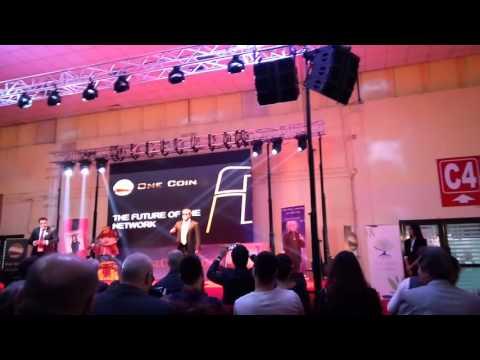 Gala Onecoin Bucuresti Romania - Kari Wahlroos, Ambassadorul Onecoin Europa, 23.01.2016