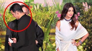 Akshay Kumar Ignores Shilpa Shetty At Sonam Kapoor Wedding Reception