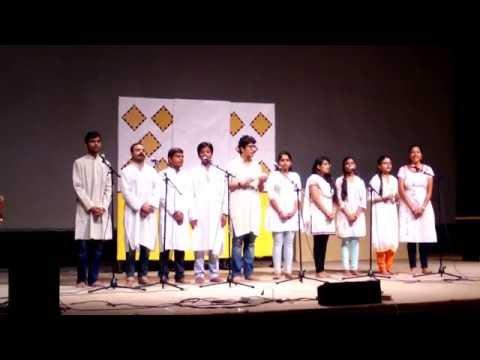 Wo din hai kitna door , patriotic song performance by students , IIT Guwahati