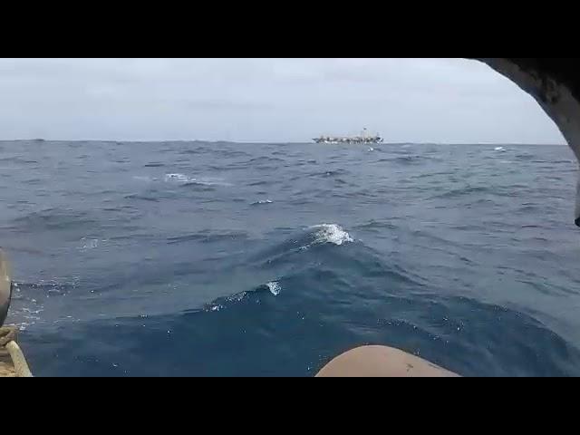 """Barco chino navega en Mar de Grau como """"Pedro en su casa"""""""