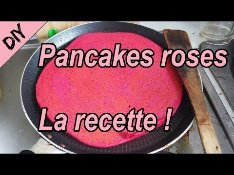 [recette]-comment-faire-des-pancakes-roses-(sans-colorant-synthétique)