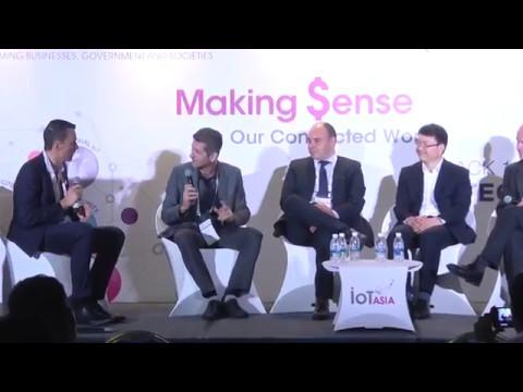 Enabling Next Gen IoT Capabilities panel at IoT Asia 2017