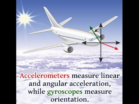 Difference Between an Accelerometer and a Gyroscope