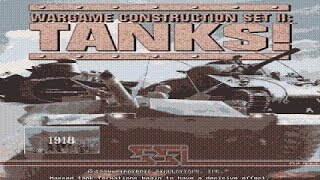Wargame Construction Set 2: Tanks! gameplay (PC Game, 1994)