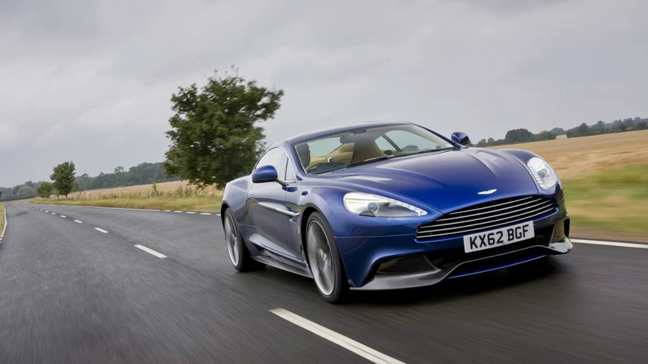 2019 Aston Martin Vanquish Like A Handsomer DB11 With More Grunt. AUTO CAR