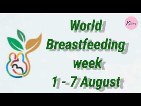 World Breastfeeding Week Wbw Paragraph Speech Short Essay Few Lines Youtube