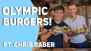 Olympic Burgers with Chris Baber I Tom Daley