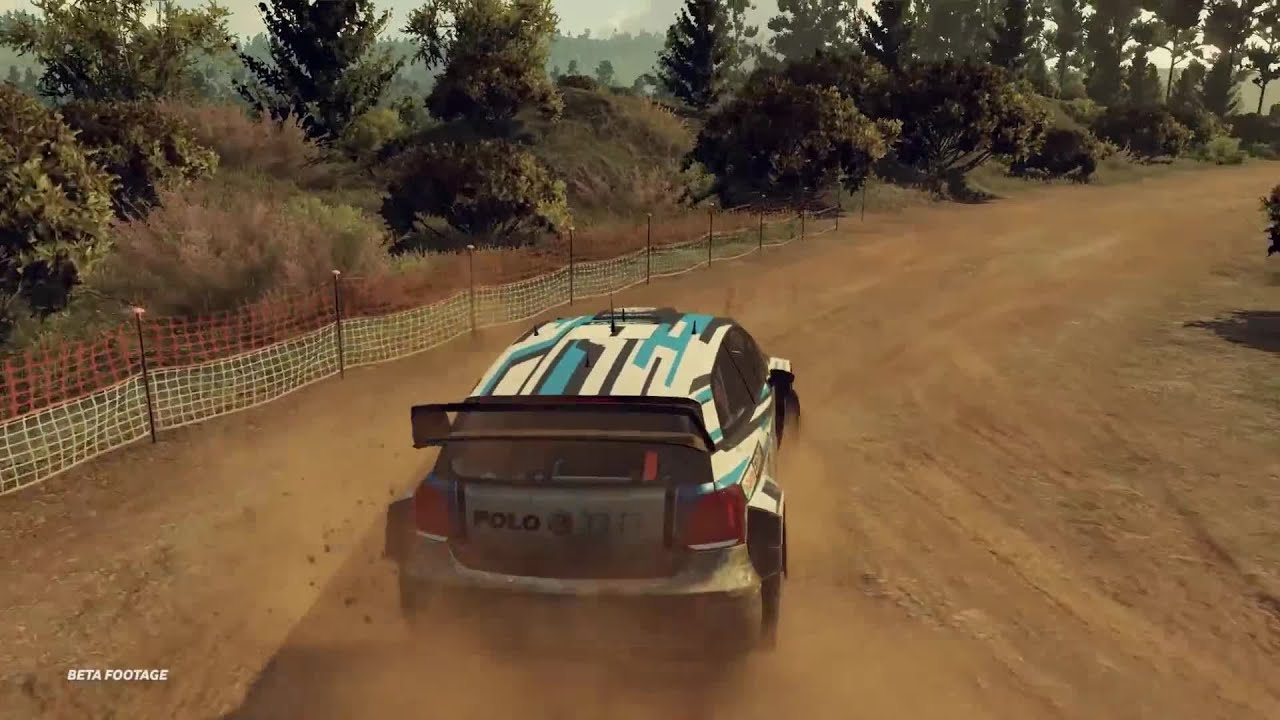 wrc 5 first gameplay rally de portugal with vw polo r wrc. Black Bedroom Furniture Sets. Home Design Ideas