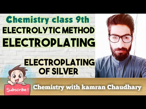 prevention of corrosion   electroplating of silver on spoon   class 9   lecture 18   in urdu hindi