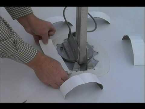 how to fix rv antenna crank
