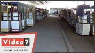 """بعد 8 شهور على افتتاحه ..سوق أحمد حلمى الجديد خالى من الباعة..وبائع: :"""" عندى 11 عيل ومفيش بيع"""""""