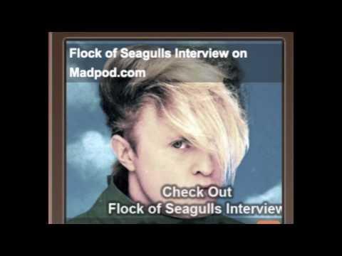 Flock Of Seagulls Interview on MadPod Part 1
