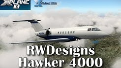RWDesigns Hawker 4000 for X-plane 10