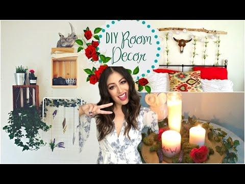 DIY Room Decorations 2015: Tumblr Greenery & Plants