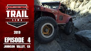 homepage tile video photo for Trail to SEMA 2019 - Episode 4: Sledgehammer, Johnson Valley CA