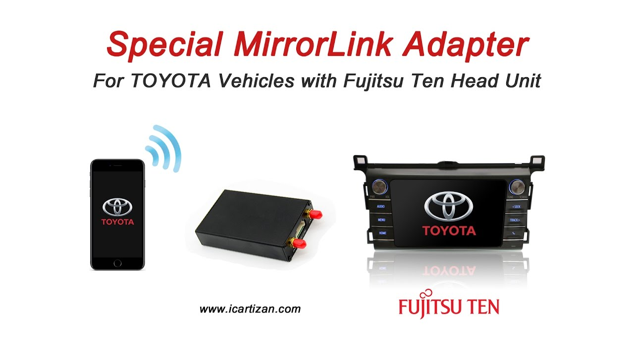mirrorlink toyota iphone
