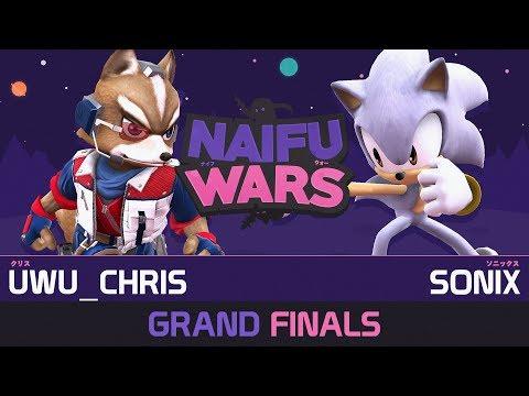 Naifu Wars #11 Grand Finals - uwu_chris (Fox, various) vs Sonix (Sonic) - Smash Wii U