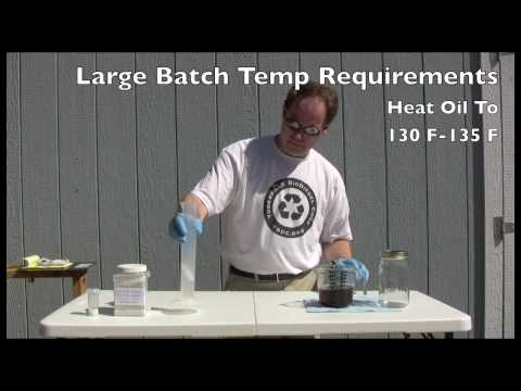 Making Biodiesel From Waste Vegetable Oil | Utah Biodiesel Supply
