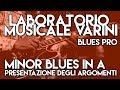 corso BPRO - esempi degli argomenti - minor blues in A