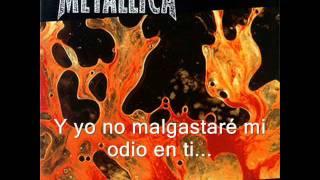 Wasting my hate(subtítulos en español)-Metallica