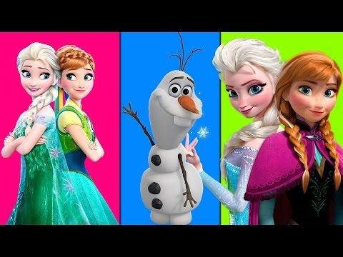 Frozen Fever Finger Family Songs | Olaf Finger family Cartoons | Sven And Frozen Kids Rhymes