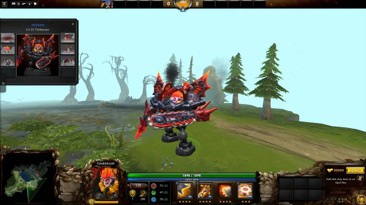 General Discussion Molten Destructor Set For Timbersaw