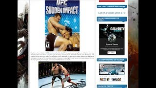 How To Download Ufc Sudden Impact From Ocean of Game in Urdu/Hindi