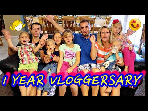 🎉1 YEAR VLOGGERSARY AND GIVEAWAY!!💓