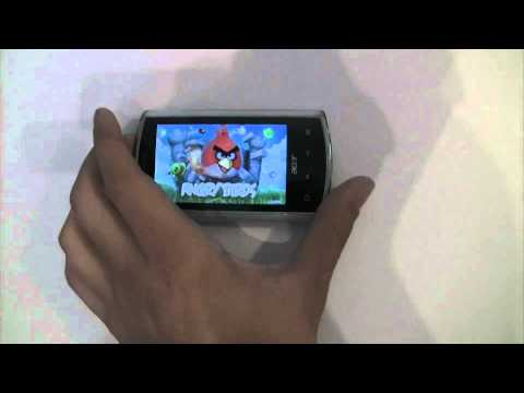 Test Acer Liquid A1 - Froyo 2.2