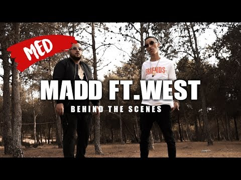 Madd ft.West - ALLO OUAIS  🎬🎥  l ماد كلاشا طوطو...الكواليس  😲