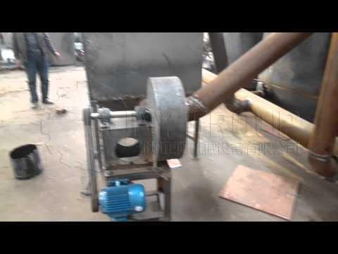 working video showing smoke processing carbonization furnace Zhengyang Machinery Suny Group