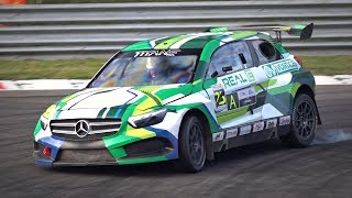 Monza Rally MASTER SHOW 2019 Best Moments | Titans RX, AWD Donuts, Sordo Reverse Entry & More!