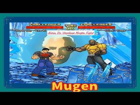 Mugen : Superboy Kon-el (Dc Comics) Vs Luke Cage (Marvel) (Request)