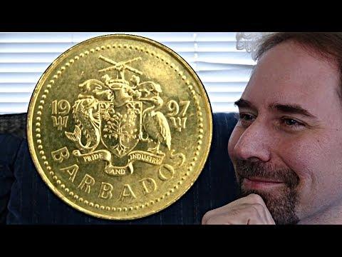 Barbados 5 Cents 1997 Coin