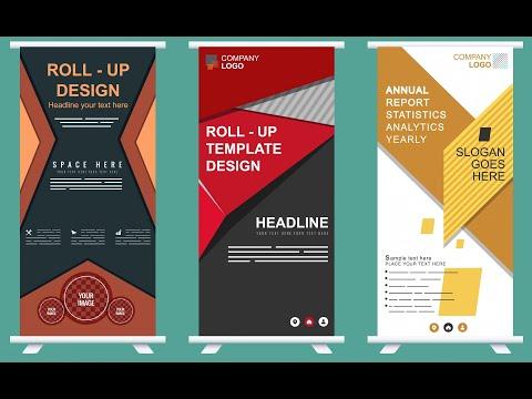 coreldraw 9 x6 x7 // Roll Up Banner Design by Bnarts