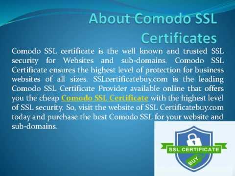 Comodo SSL Certificate, comodo ssl, cheap comodo ssl