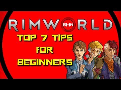 Easiest Way To Start Rimworld - Beginner Tips | Rimworld Royalty Tutorial |