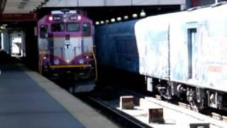 MBTA 3249 with Disneys a Christmas Carol Train