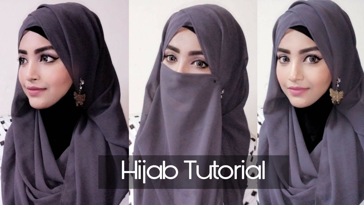 Hijab Style 2018 Step By Step With Niqab