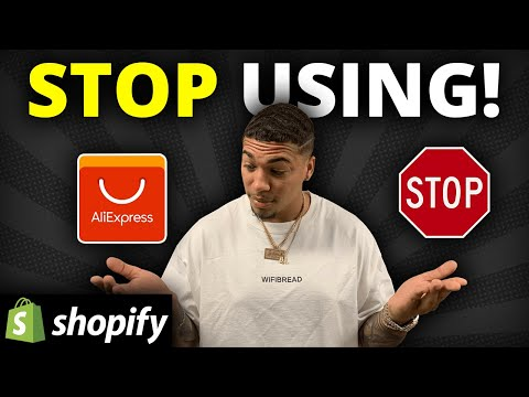 How To Dropship WITHOUT Aliexpress on Shopify (5-10 Day Shipping)