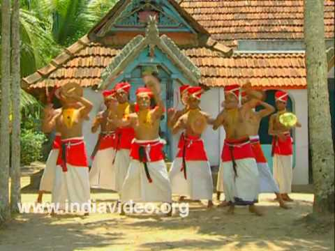Velakali - the dance of the soldiers