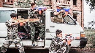 LTT Nerf War : SEAL X Nerf Guns Attack Battle Criminal Groups Rescue Teammate