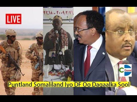 Puntland Somaliland Iyo DF Oo Dagaal Sool Lagu Amrey in ay Joojiyaan Colaad Ka Jirta