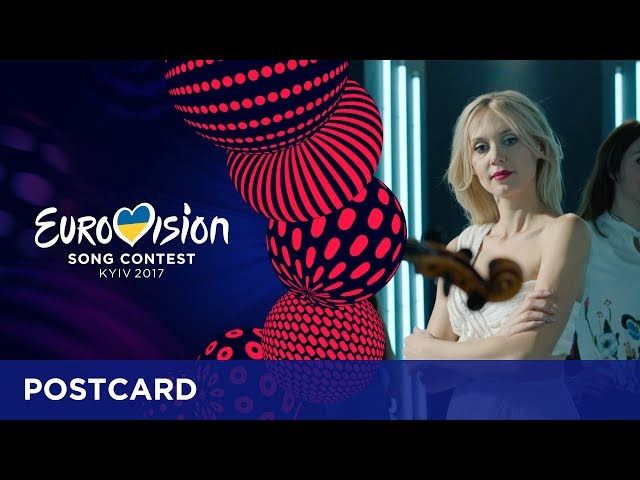 Postcard of Kasia Moś from Poland - Eurovision Song Contest 2017