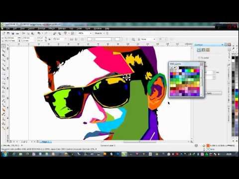 HOW TO MAKE POP ART WITH CORELDRAW X5 | Doovi
